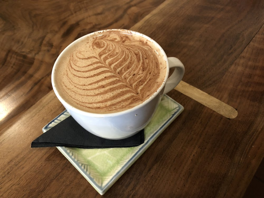 Coffee (available as drip coffee or cold brew) - Backbone Cafe