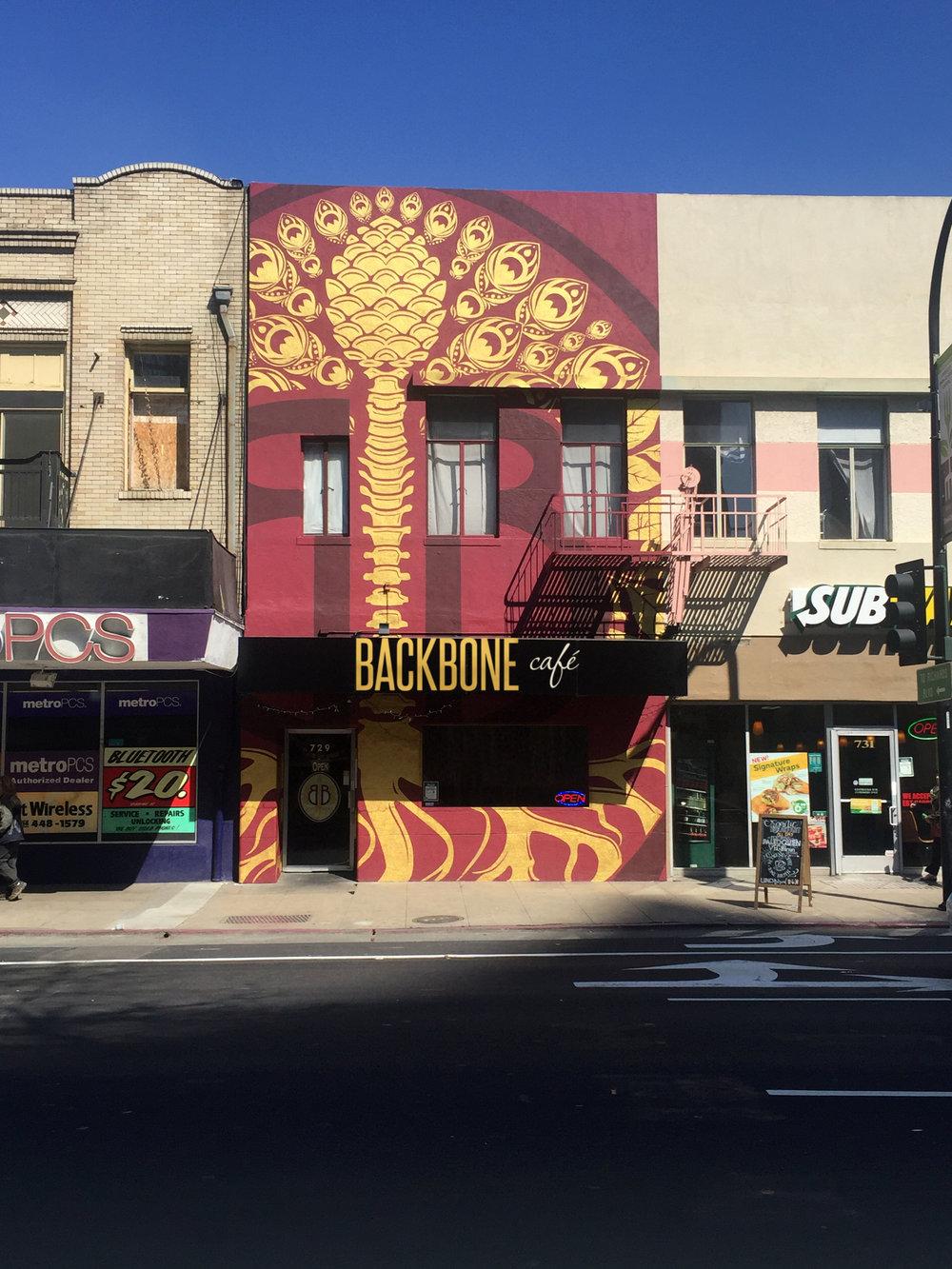 Backbone Cafe - 729 J St. Sacramento, CA 95814