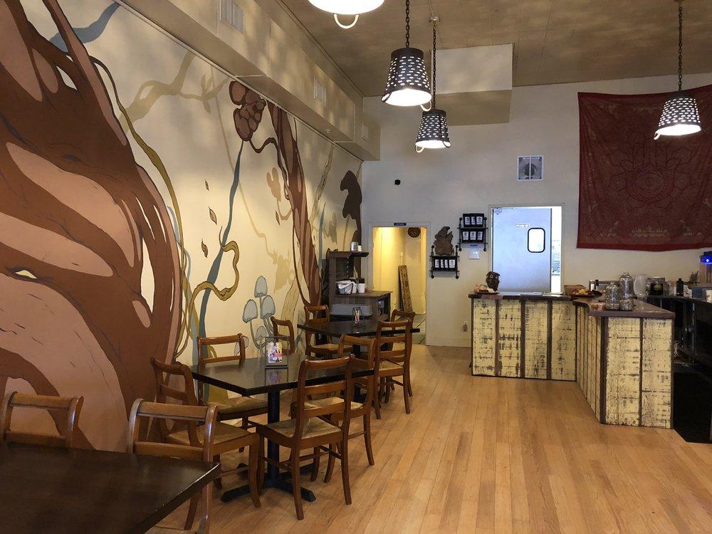 Backbone Cafe Interior