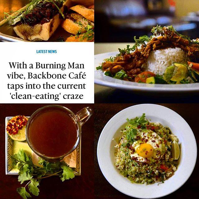 Sacramento Bee Article Featuring Backbone Cafe