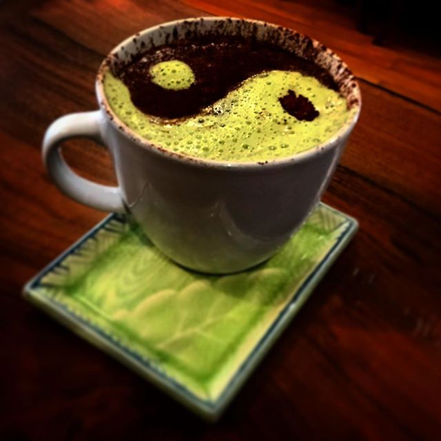 Keto Coffee (available as coffee or matcha green tea) - Backbone Cafe