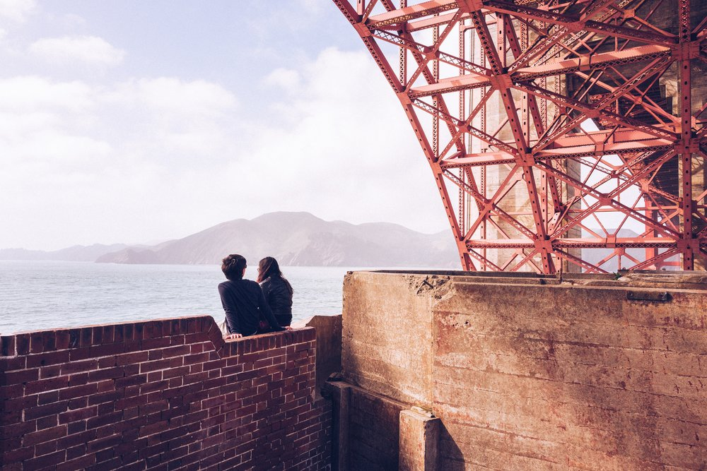 Hanging out at Fort Point. Photo by  Ryan Spencer  on  Unsplash