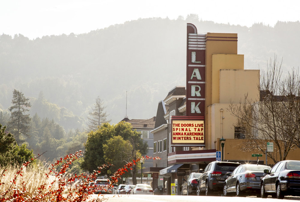 The lark Theatre in Larkspur is a Marin County gem!