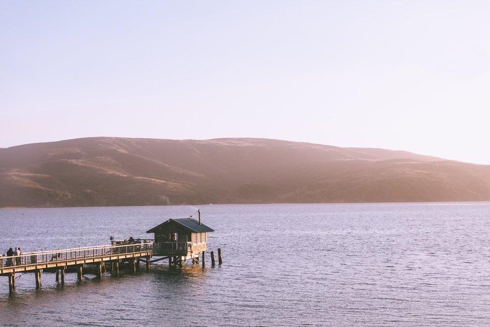 The Boathouse at Nick's Cove on Tomales Bay. Photo by  Thomas Ciszewski  on  Unsplash