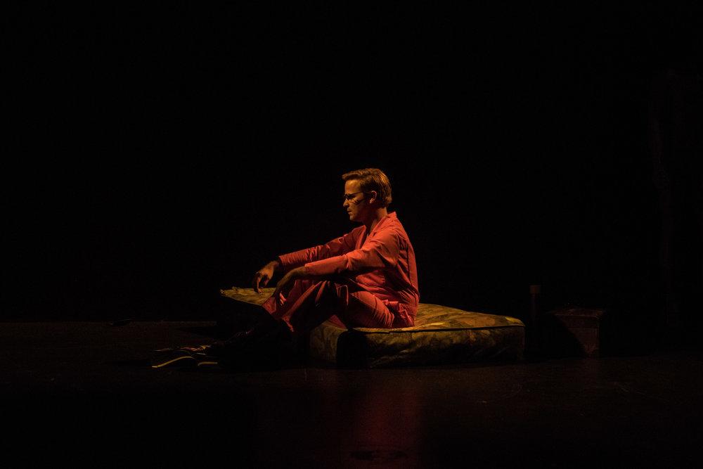 Photographer: Robbie Sweeny  Evan Johnson as Jeffrey Dahmer ( Don't Feel: The Death of Dahmer ) 2017 at Z Below,