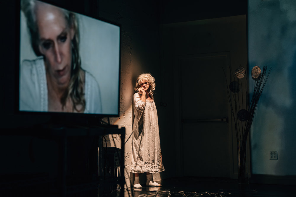 Photo by: Robbie Sweeny  Pictured: Evan Johnson as Mommy in  Barn Owl  (2018)