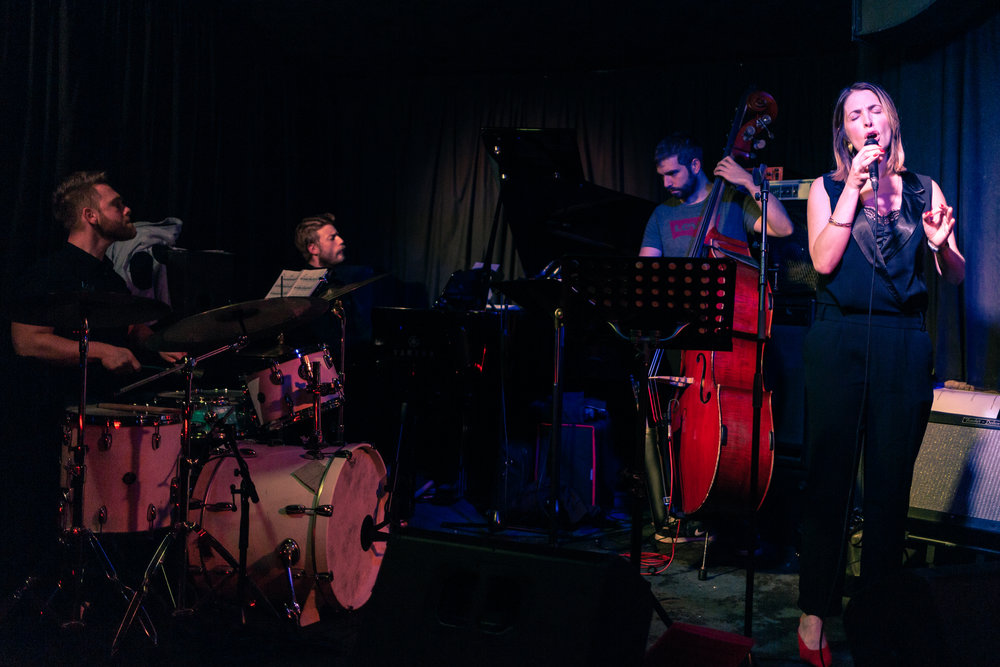Louise Dodds Quartet at The Jazz Bar