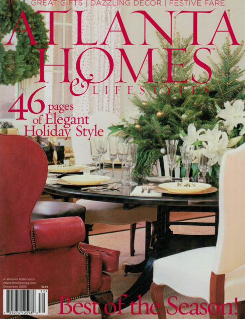 ATLANTA HOMES & LIFESTYLES, DEC. 2003