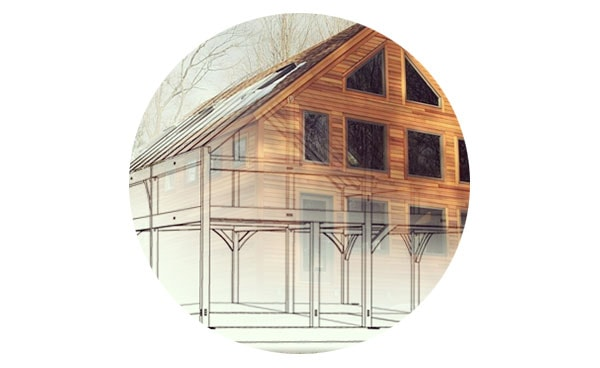 Timber Frame Kits - The essential architecture of these plans is already drawn, and assembly can be done by skilled buyers. Or, hire local contractors and save on the cost of a traveling timber frame crew. The same panels that snug up other Brooks Post & Beam structures come with the frame.Learn more