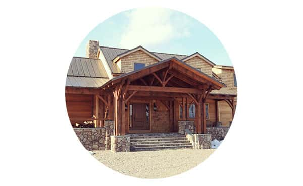 Timber Frame Homes - Finding shelter is an instinctive drive in all of us. At its very best, that shelter becomes an expression of who we are and our role in the larger community. Strength, beauty and efficiency are a few of the characteristics of timber frame homes that help make a powerful impression.Learn more