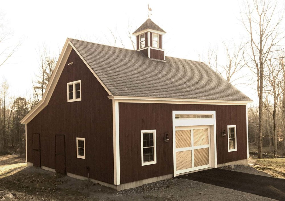 Adams Timber Frame Barn Photo Example