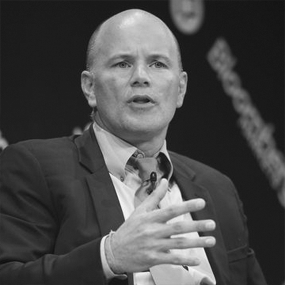 Mike Novogratz  Advisor  Mike is former hedge fund manager at Fortress Investment Group, member of the Federal Reserve Bank of New York's Investment Advisory Committee on Financial Markets, and CEO of Galaxy Digital. Novogratz is a graduate of Princeton University.   LinkedIn  |  Twitter