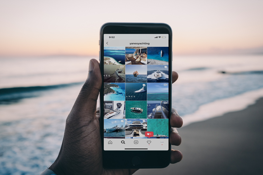 SOCIAL MEDIA ENGAGEMENT - Yanes Yachting generates content of the best quality for the most important social media platforms: Instagram, facebook, Youtube and Twitter. Reaching a broad audience of boaters by highlighting not only the qualities of the boats in the listings, but also the lifestyle that yachting entails.