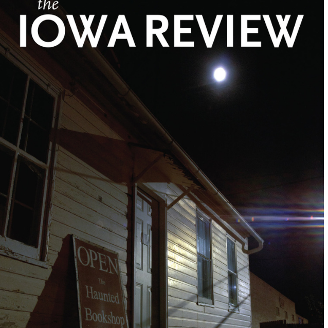 Iowa Review, Winter 15/16: Poetry Man, 1989