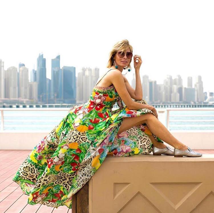 Carole Radziwill in Dubai