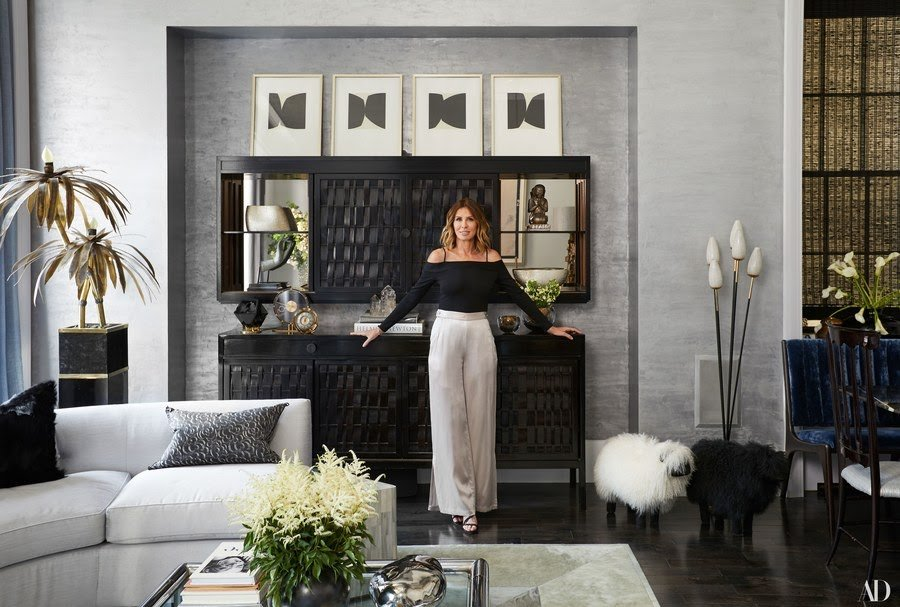 Carole Radziwill for Architectural Digest (2017)