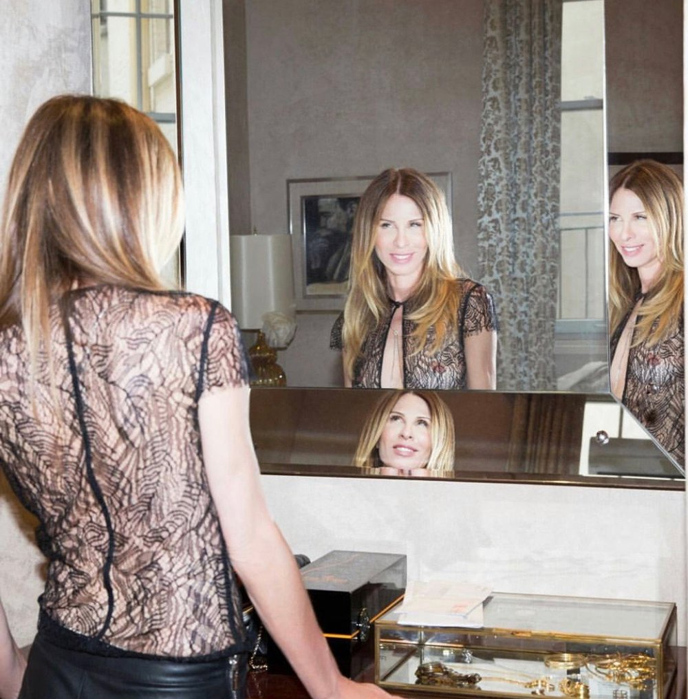 Carole in her apartment for Elle Magazine (2015)