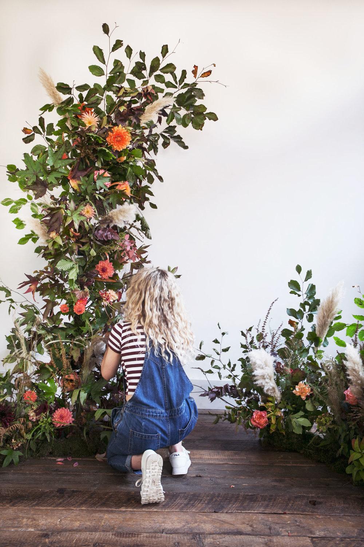 Florist installation