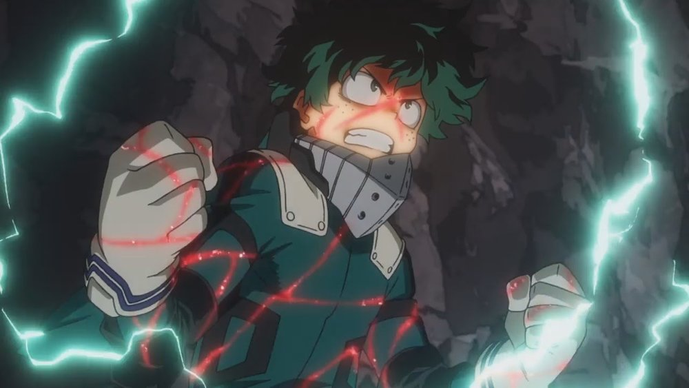 Every Theater Showing My Hero Academia Two Heroes Kinda The