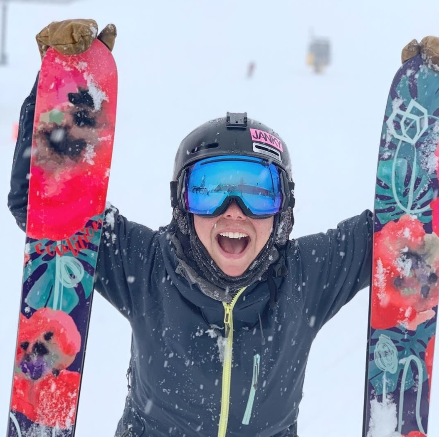 @rblums  with the Coalition Snow Women's Abyss Ski