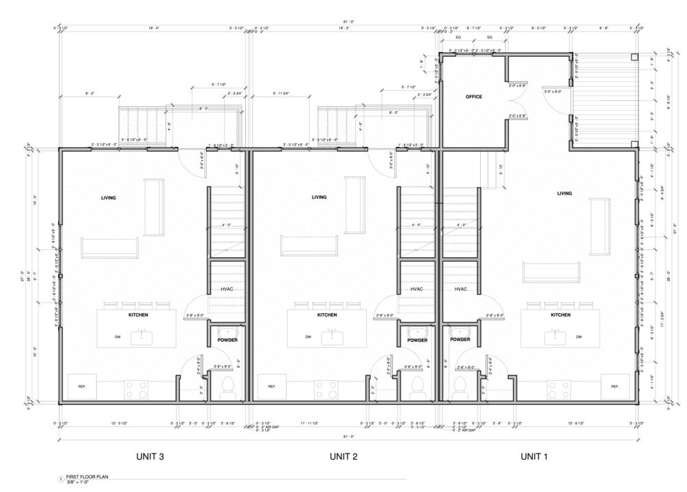 Units 1-3 Floor 1