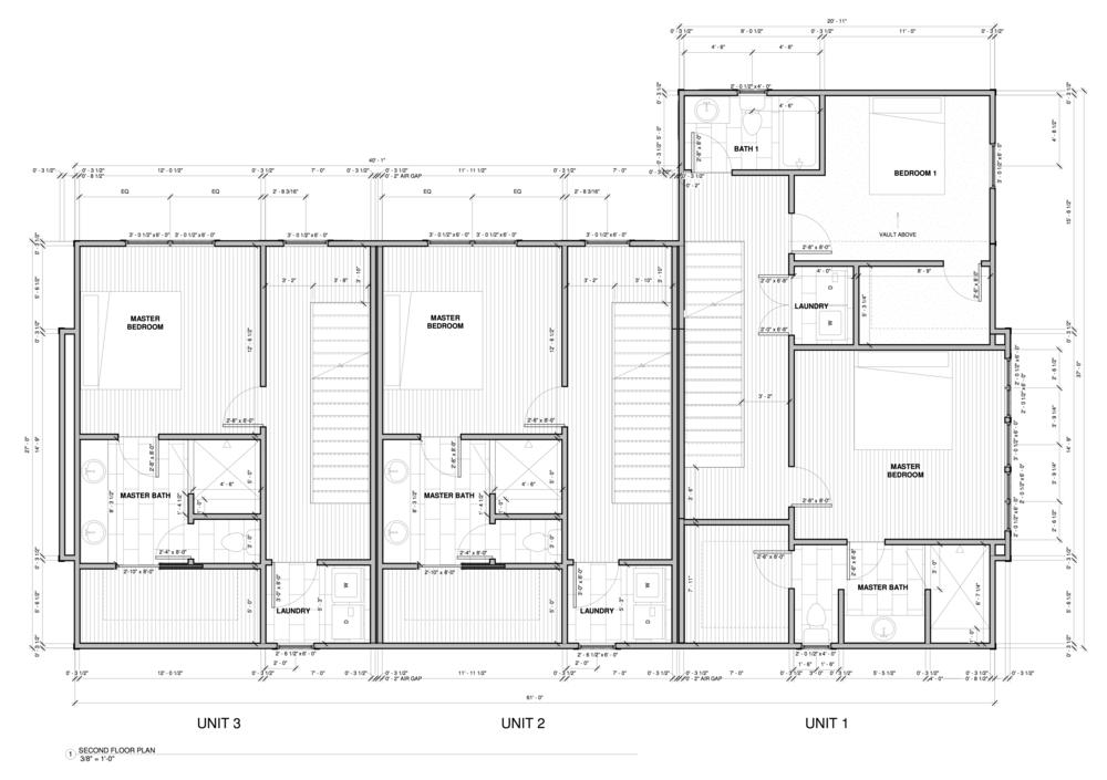Units 1-3 Floor 2