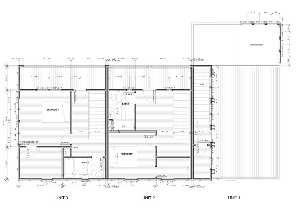 Units 1-3 Floor 3