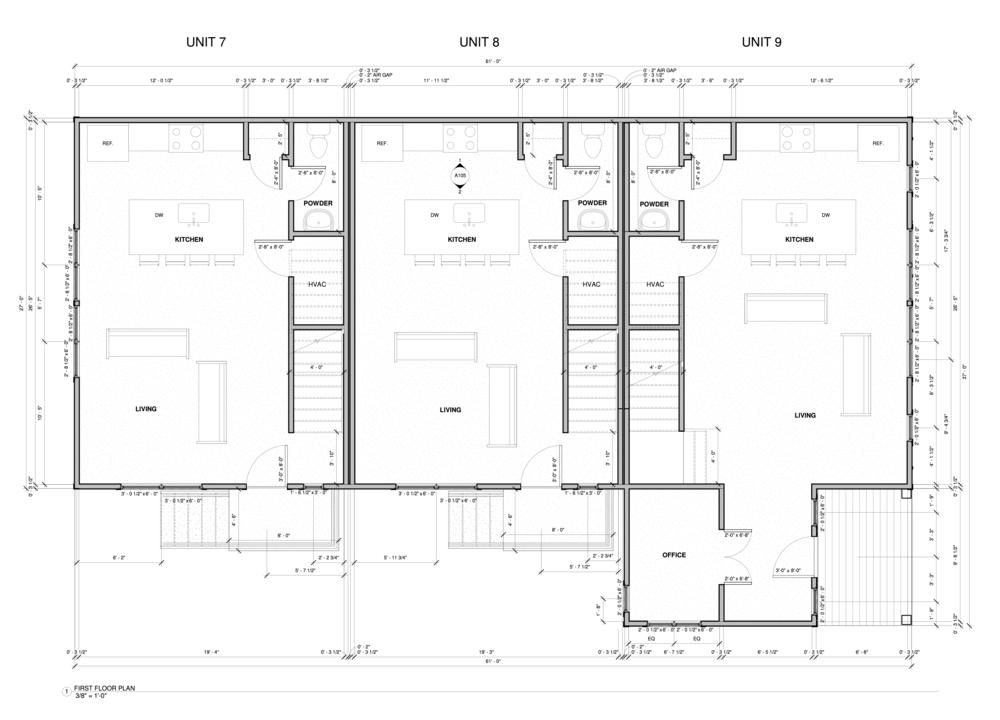 Units 7-9 Floor 1