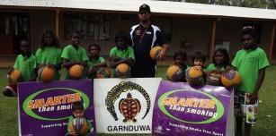 Ngallagunda Aussie Hoops Program Group Photo 2015