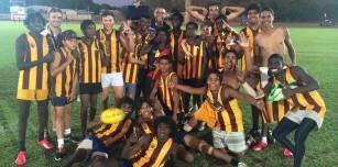 Kununurra Junior Demons East Kimberley Junior Football League Premiers 2015