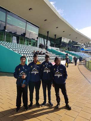 Bendigo Bank Stadium in Mandurah, WA.