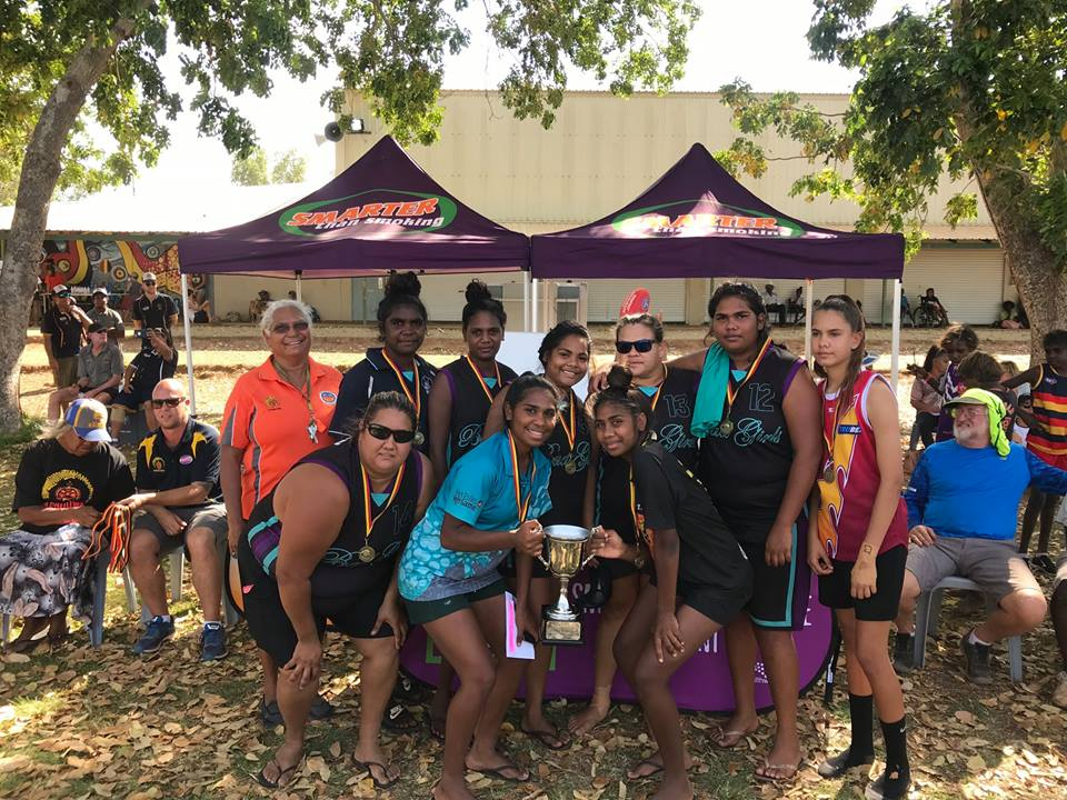 Garnduwa Festival 2018 Marmingee Hand Cup B Grade Basketball Champions Djugerari Bad Girls.jpg