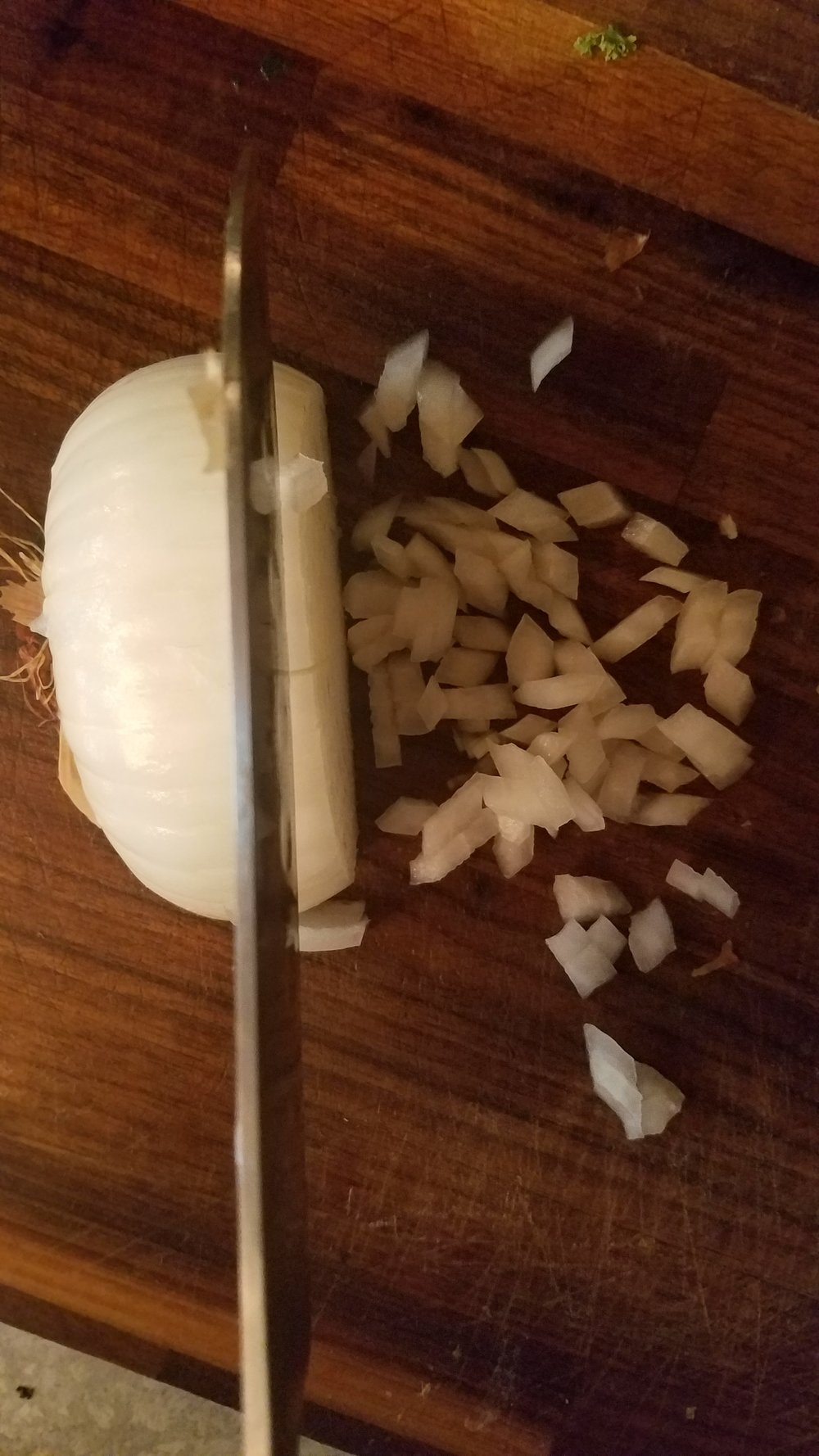 Dicing an Onion