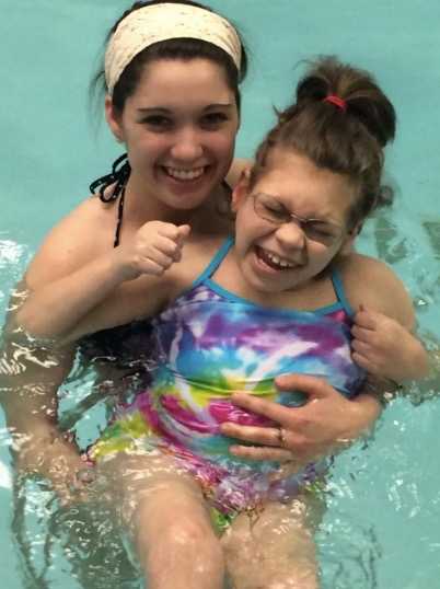 Emily and Alyssa first time at the pool!.jpg