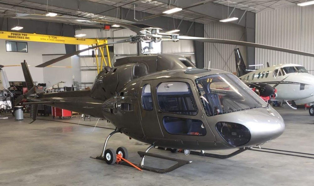 AS355 Twinstar - Similar to the Astar, the TwinStar is a light, economical twin-engine turbine helicopter that delivers the comfort and performance necessary of a twin without the costs associated with larger twin-engine helicopters.
