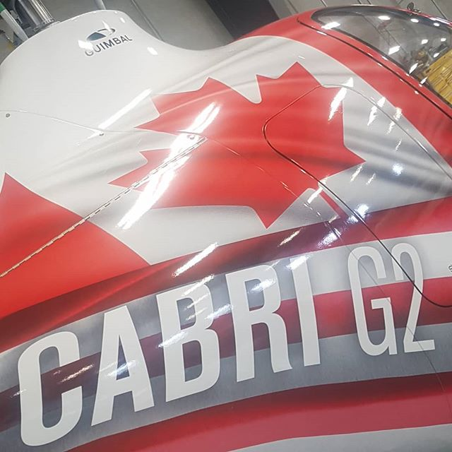 It's National Canada Flag Day! We are proud to wear our nations flag on our Guimbal Cambri G2!🇨🇦 #nationalcanadaflagday #canada #guimbalcabrig2 #guimbalhelicopters #flighttraining #proudcanadians #strongandfree #albertastrong #helicoptercareer