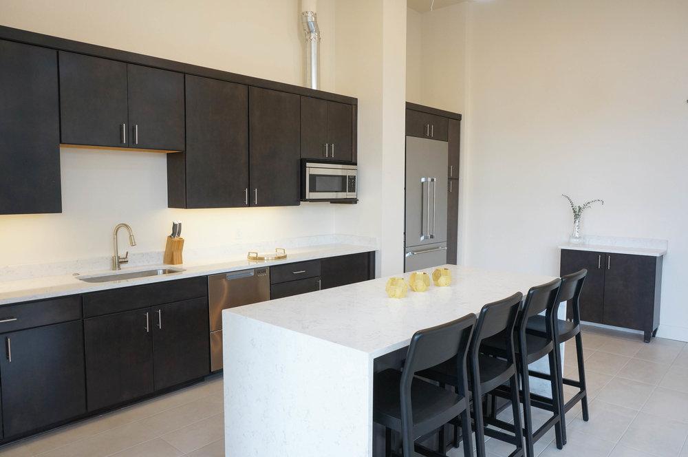 Community Lounge Kitchen