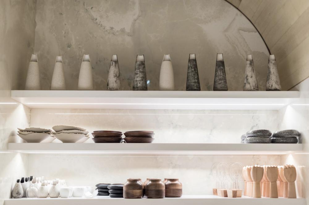 Dinnerware ceramic vessels by Match stoneware.
