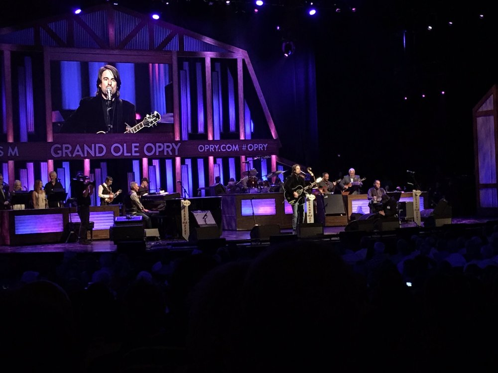 JW on Opry House stage.JPG