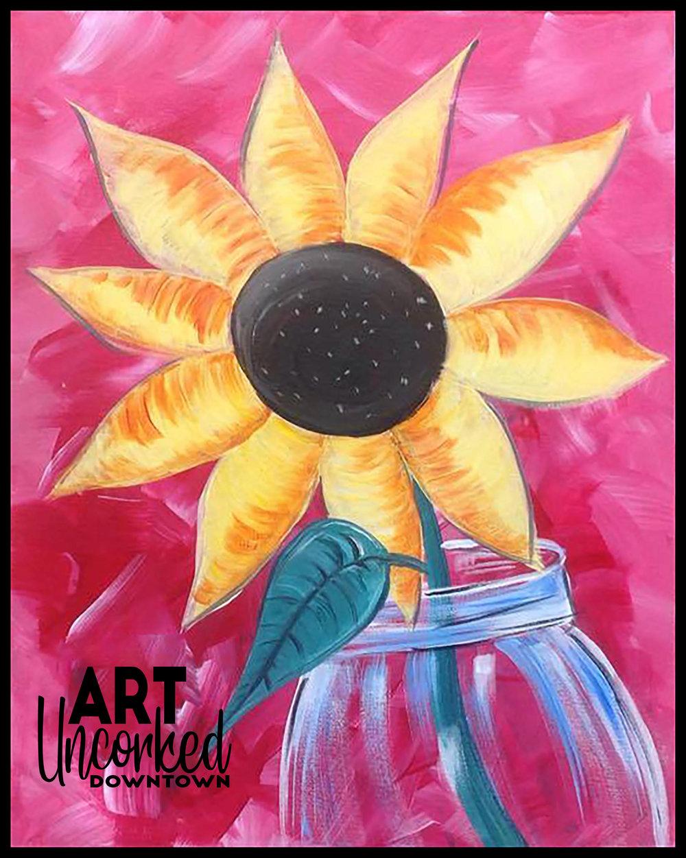 winter sunflower jar.jpg