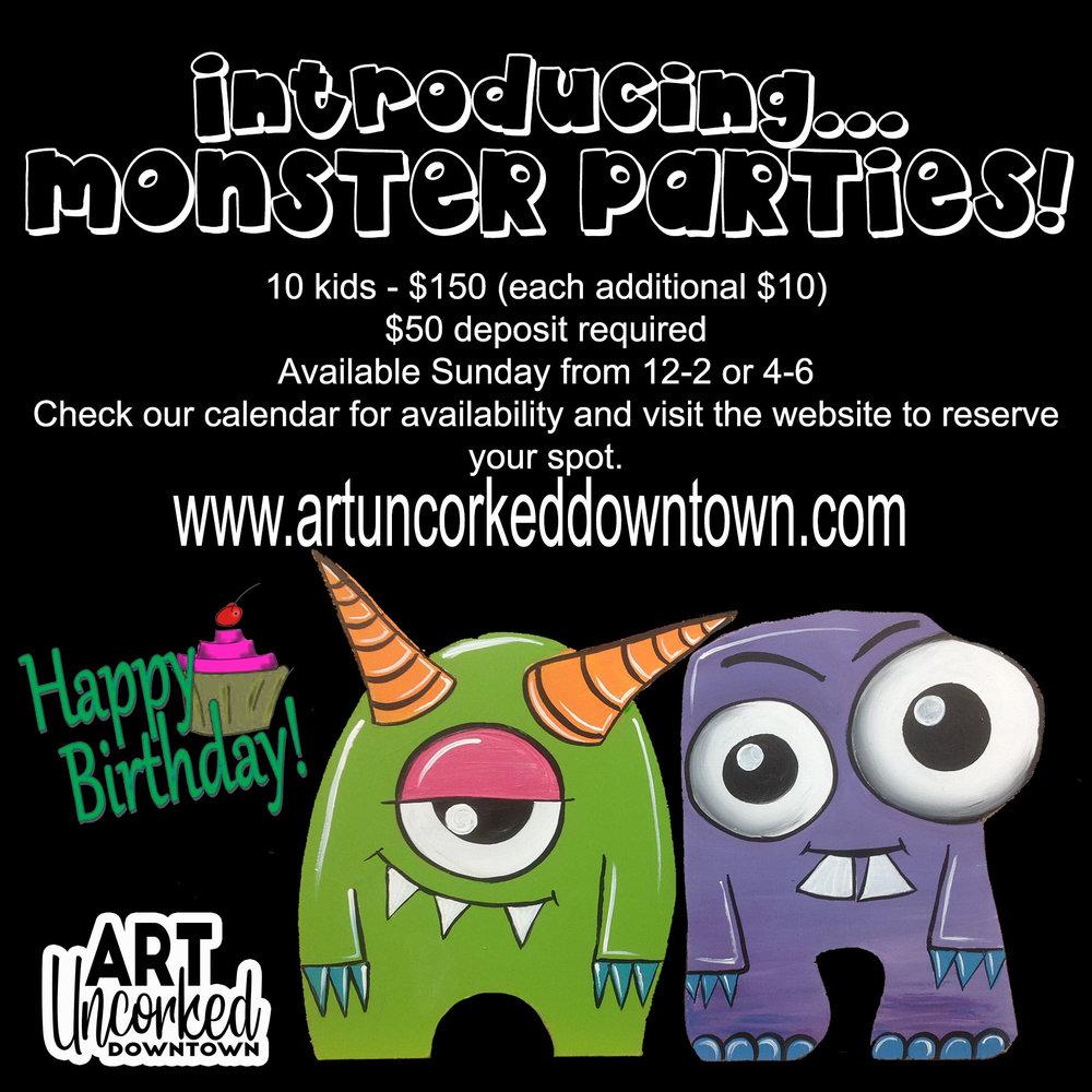 MONSTER PARTIES