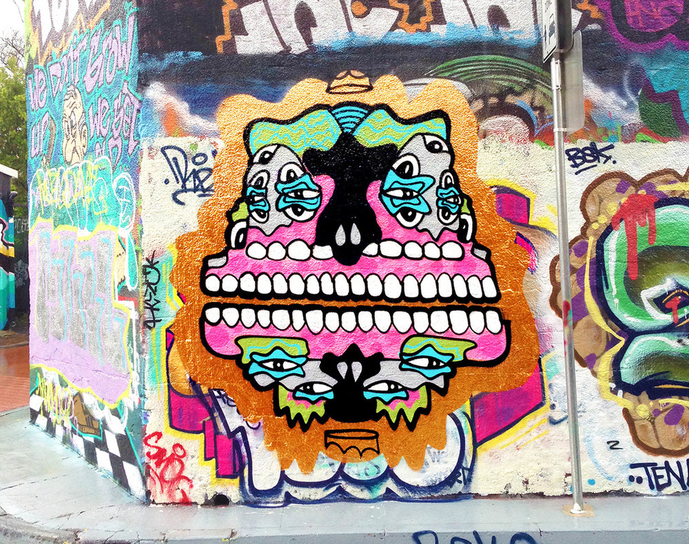 Flip me painted in Sydney Australia