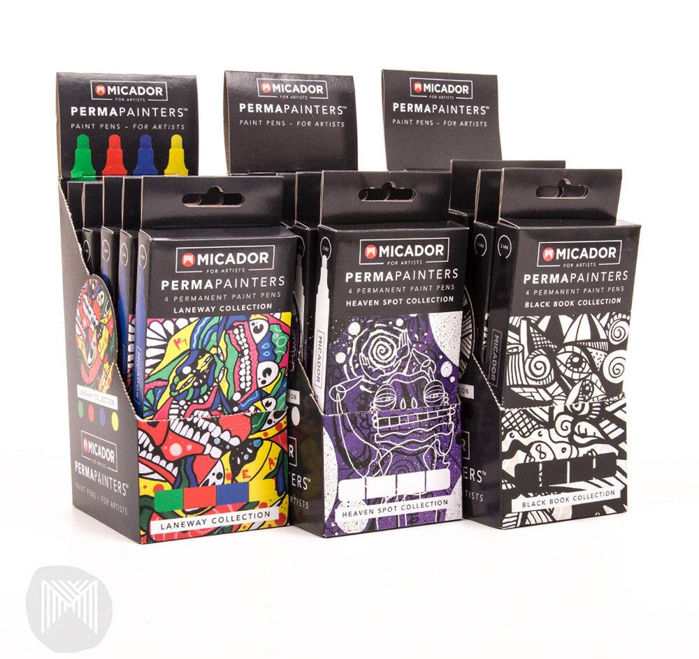 Design for Micador for artists (Photoshop & Illustrator)