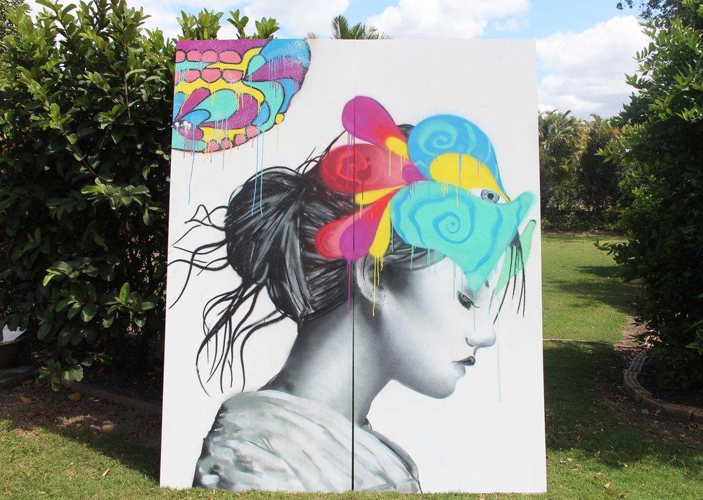 RUSH FESTIVAL - Mural Artist: Lukas Kasper