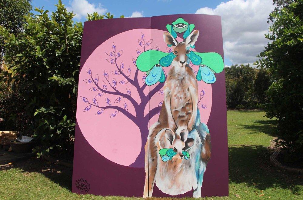 Kangaroo Family -