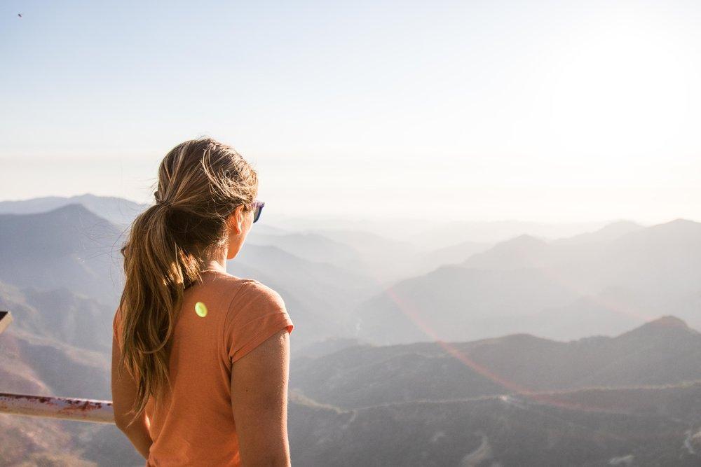 - top of Morro Rock