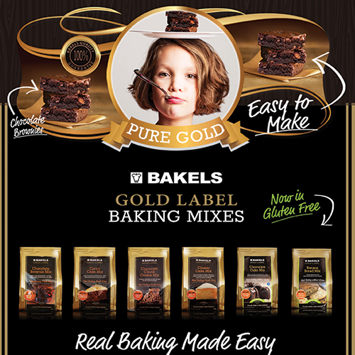 BAKELS GOLD LABEL