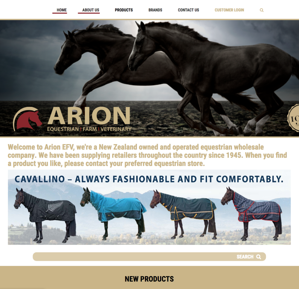 ARION EFV - HORSE GEAR