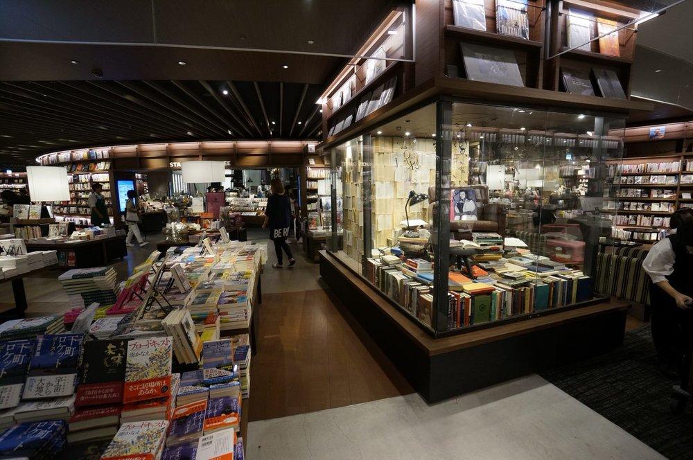 Tsutaya Book Store, Osaka - Photo by Phil Schoutrop (Buchan Group)