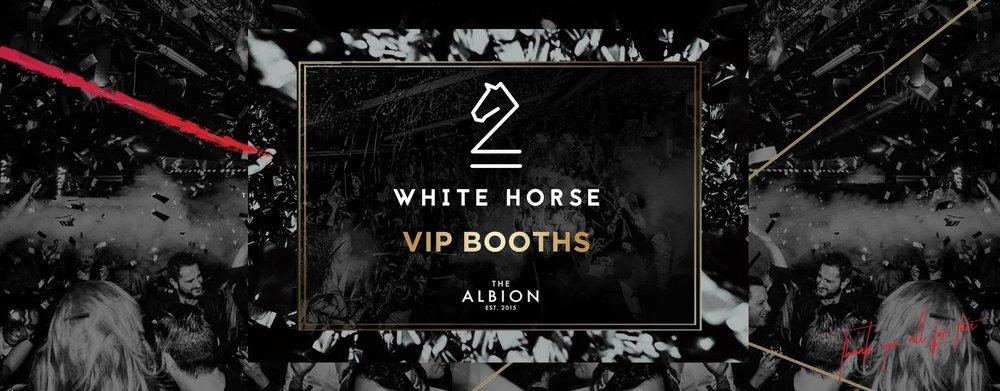 White Horse VIP Booths